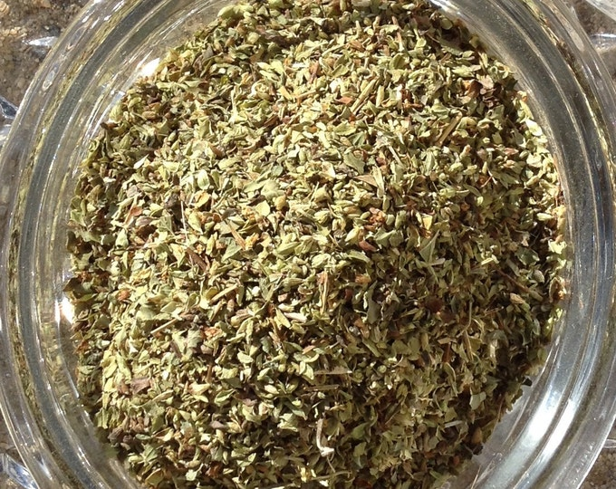 1/2-4 oz Oregano Leaf organic. No sulfites no additives no preservatives