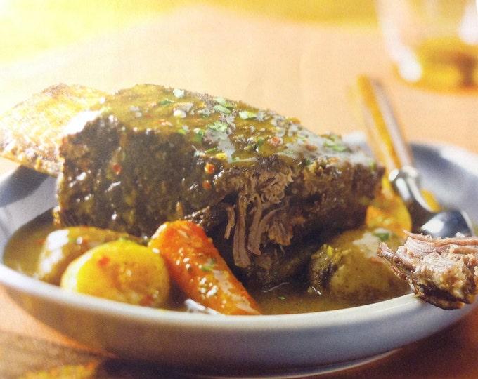 Moroccan Short Rib or Pork Rib Rub for 2.5 lbs meat or 4-6 ribs Organic  No Preservatives