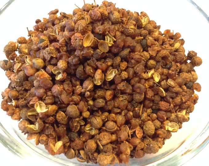 1/2 - 4 oz Organic Szechuan Pepper Whole Gluten Free Vegan freindly