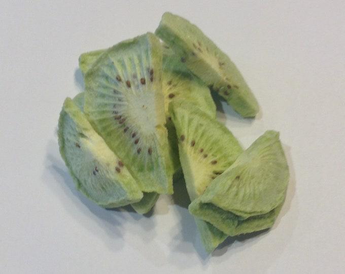 1/2-1 oz Freeze dried Kiwi   unprocessed all natual no sulfites no additives GMO free