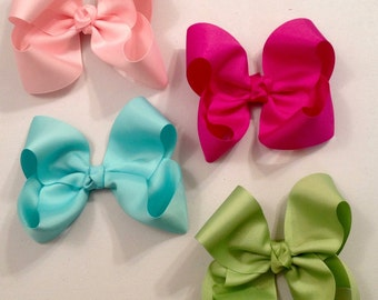 Large Boutique Hair Bows Made to Match Matilda Jane