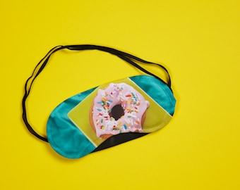 Sleep mask, night mask, plane eye mask, wolf, face eye mask, bath mask, travel mask, sleep mask, donut