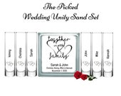 Wedding Unity Sand Ceremony Set Blended Family Together we Make a Family-Blended Family-Tree-TPUWUS224
