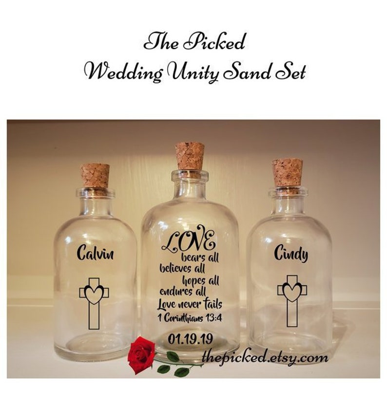 Love is Patient-Love is Kind-Sand Ceremony Unity Set-TPUWUS54