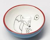 Ceramic Small Bowl - Cute...