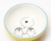 Ceramic Small Bowl - Love...