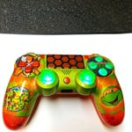 Custom [MIKEY-TMNT] New Wireless Dualshock Controller [Made to Order]