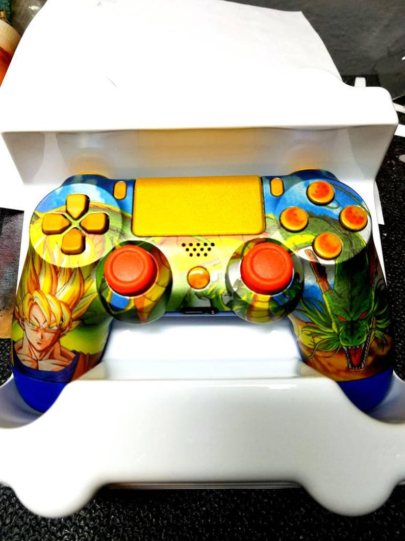 Custom DRAGONBALL Z New Wireless Dualshock4 Controller Made image 0