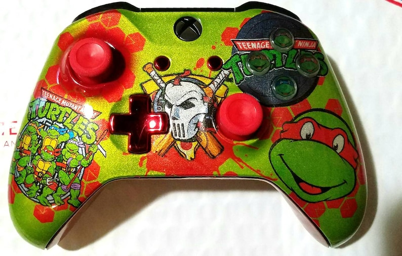 Custom TMNT Ralph New Wireless Xboxone Controller Made to image 0