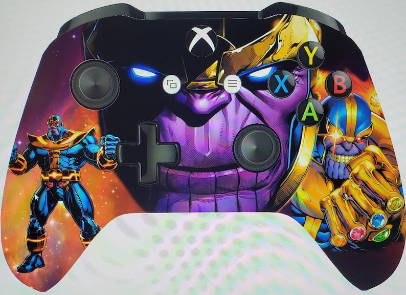 Custom  Thanos Wireless Xboxone Controller  Made to Order image 0