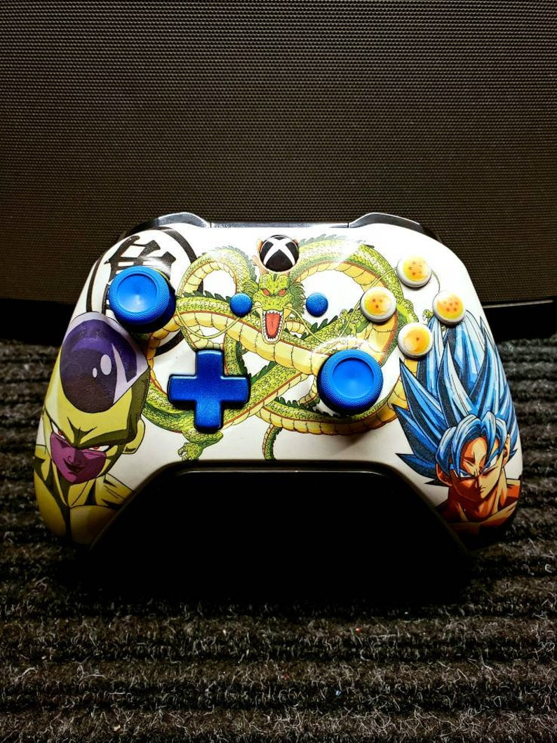 Custom Goku/Freiza  DragonBallz New Wireless Xboxone image 0