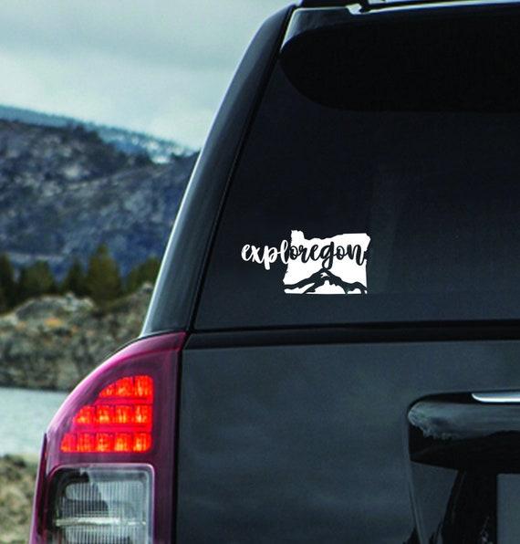 1pair 2pcs For Tree Decal Mountain Scene Large Northwest Car Sticker Vinyl Car Truck Rv Toy Hauler Vehicle Wish