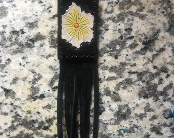 Fringe Floral Keychain
