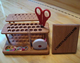 "SlimLine ""Elite"" Crochet Hook Organizer Workstation From Chetnanigans"