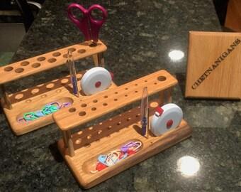 SlimLine Crochet Hook Organizer / Workstation