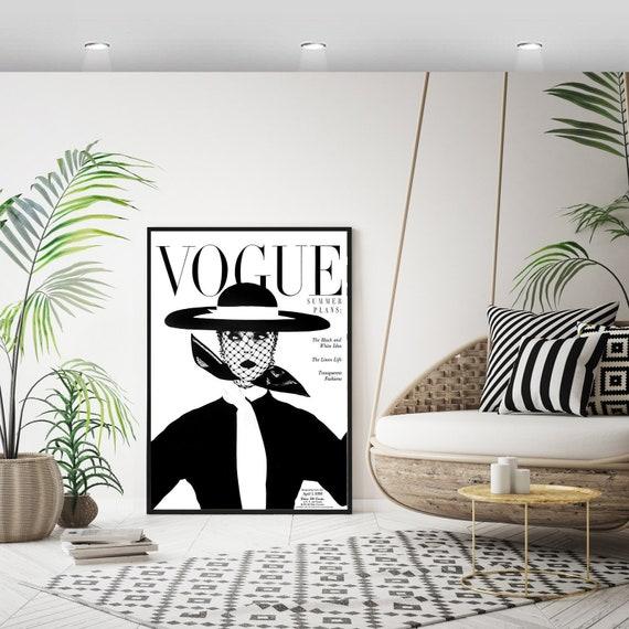 Vogue Poster Print Home Decor Wall