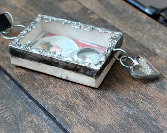 Altered Matchbox Home Decor Gift for Her Mothers Day Soldered Matchbox Altered Box Gift for Niece Gift for Daughter Maid of Honor Gift