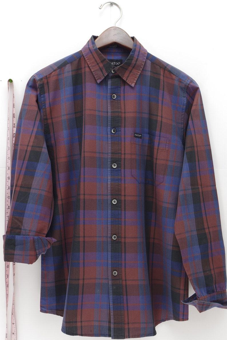 Lumberjack Tee Grunge Shirt Blue Button Downs Skater Shirts Long Sleeve Button Ups Trending Hipster Shirts BLACK RED BLUE Plaid Shirt