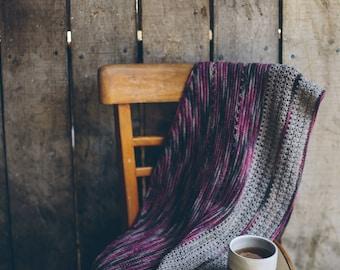 Doris Shawl ~PRINT COPY~ Simple Crochet Shawl Pattern