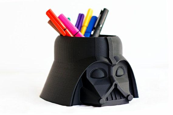 Darth Vader Pot Star Wars Planter Pencil Holder Head Etsy