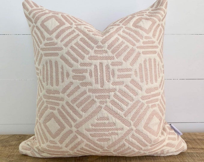 Blush Artistry Tribal Cushion Cover