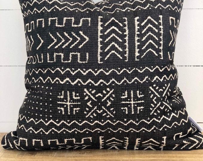 Mazinda Onyx tribal Woven Cushion Cover