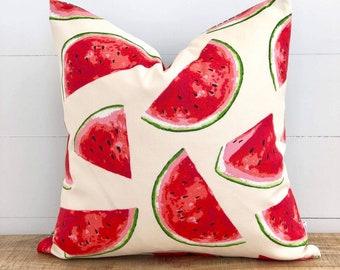 Outdoor Cushion Cover - Watermelon Splash Cushion Cover