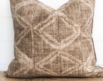 Cushion Cover - Dakari Tribal with piping