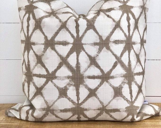 Outdoor Cushion Cover - Shibori Cushion Cover