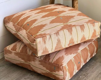Floor Cushion Cover - Southwest Rosewood Woven