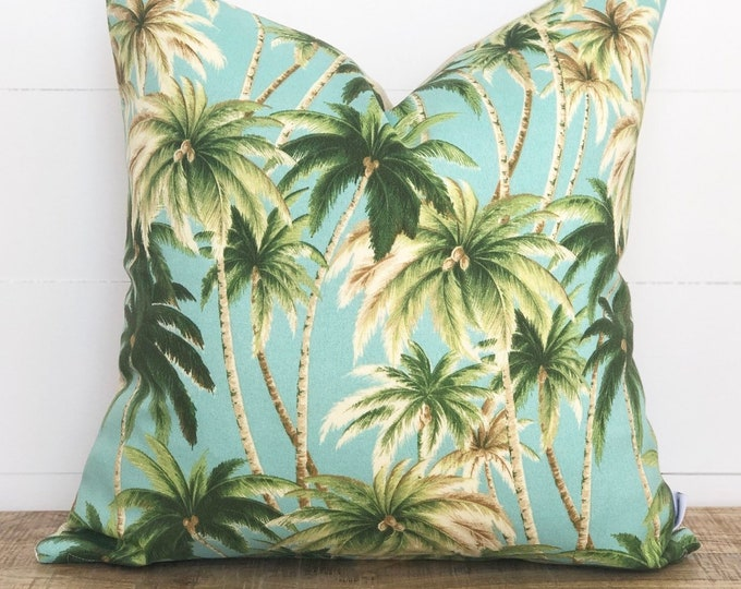 CLEARANCE** Californian Seaspray Palms Indoor/Outdoor Cushion Cover