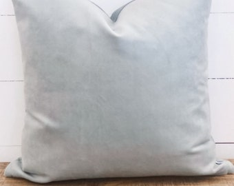SALE - Cushion Cover - Mist Velvet