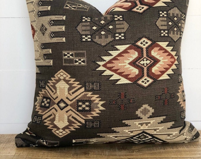Tundra Southwest Woven Cushion Cover