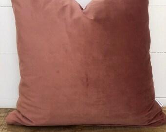 Cushion Cover - Blush Velvet
