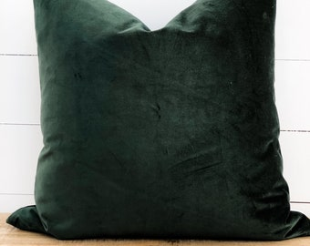 Cushion Cover - Forest Velvet