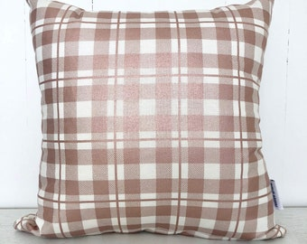 SALE - Metallic Blush Rose Gold girls cushion cover