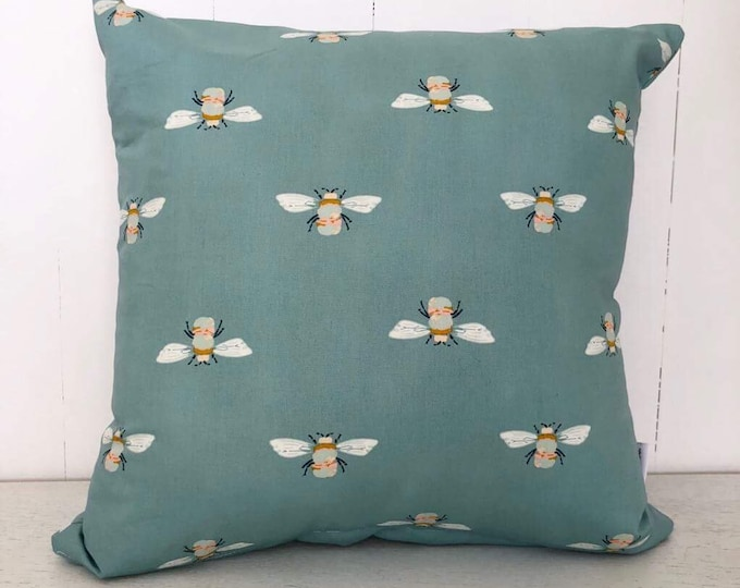 SALE - Garden dreamer bumble bees kids cushion cover