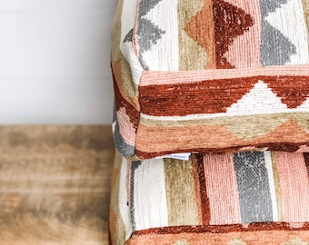 Floor Cushion Cover - Southwest Chenille