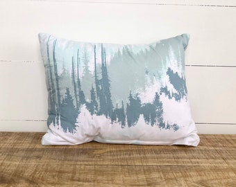 SALE - Exploring Mountains nursery cushion cover