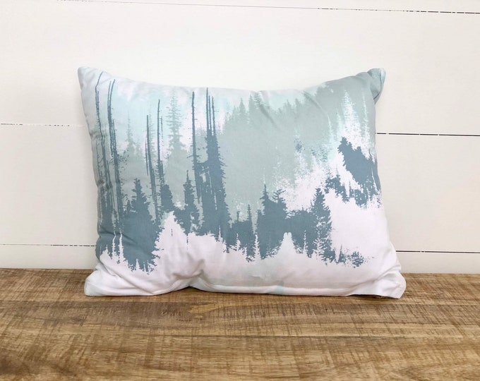 SALE - Exploring Mountains nursery cushion cover