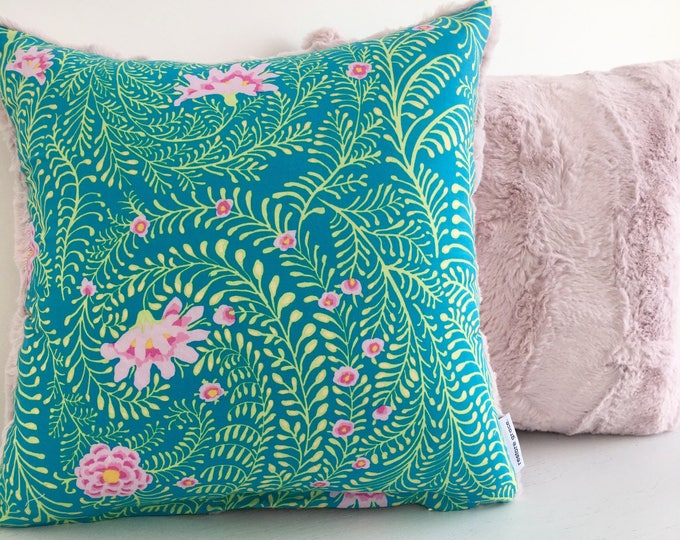 CLEARANCE** Flower Bed Girls Nursery or bedroom Cushion Cover