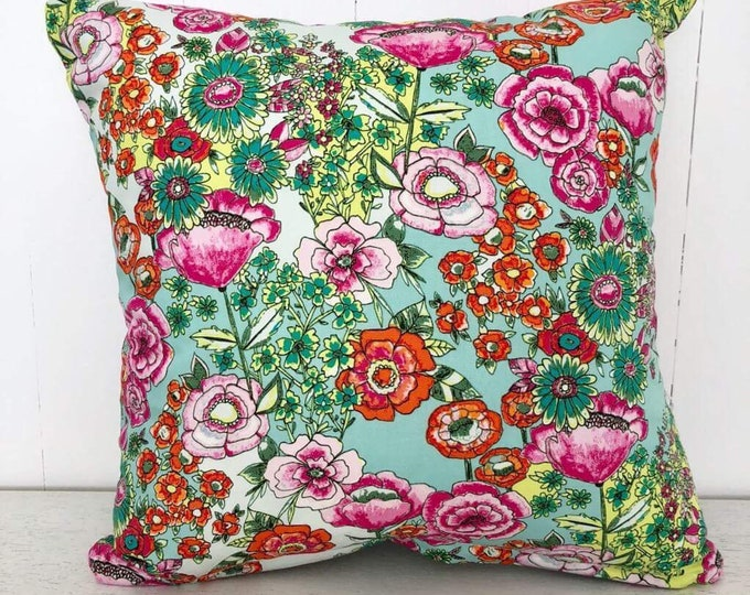 SALE - Wild Flowers Girls kids cushion cover