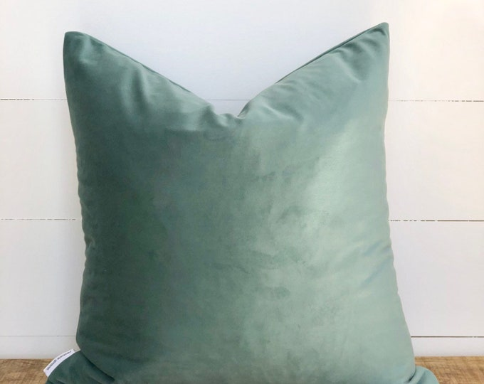 Eucalypt Velvet cushion cover