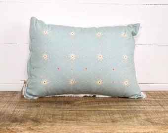 CLEARANCE - Moroccan Stars rectangle nursery cushion cover INSERT INCLUDED