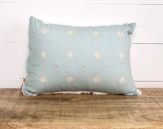 CLEARANCE - Moroccan Stars rectangle nursery cushion cover