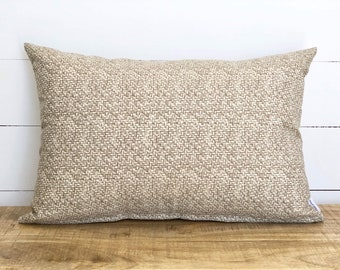 Outdoor Cushion Cover - Tampico Natural texture in rectangle
