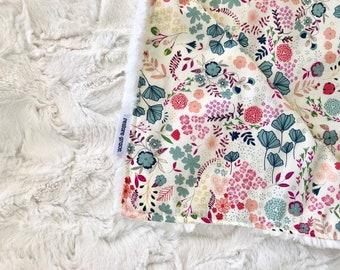 Meadow Baby Pram Blanket