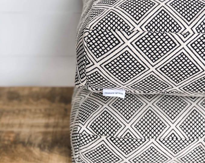 Floor Cushion Cover - Modern Wanderer Tribal
