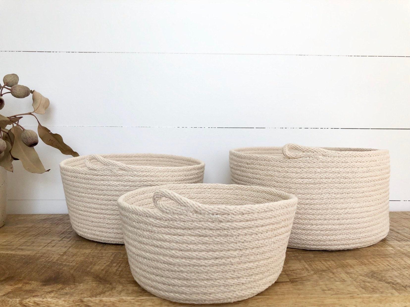 Natural Rope Bowls