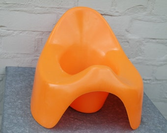 1351bdea28 Design 70s Sulo Luigi Colani baby orange chamber pot potty